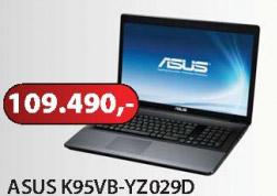 Laptop K95VB-YZ029D