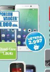 Mobilni telefon Vibe PIM DS CRNI/BELI
