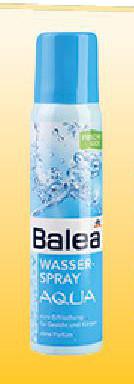 Aqua voda u spreju