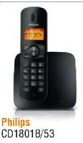 Bežični telefon CD1801B/53