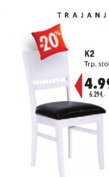 Trpezarijska stolica K2