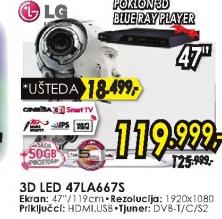 Televizor 3D LED 47LA667S