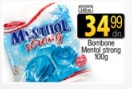 Bombone mentol strong