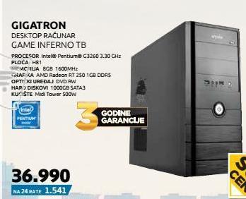 Desktop računar Game Inferno
