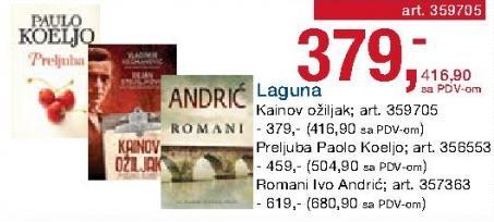 Knjiga Preljuba Paulo Kueljo Laguna