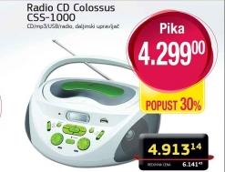 Radio CD Colossus CSS-1000