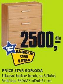 Komoda Price Star