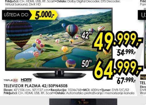 Televizor plazma 42PN450B