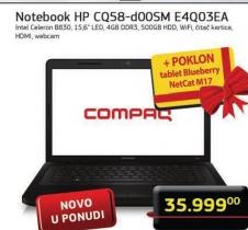 Laptop Compaq CQ58-D00SM E4Q03EA