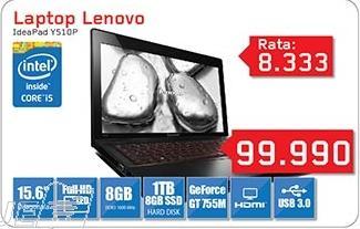 Laptop IdeaPad Y510p