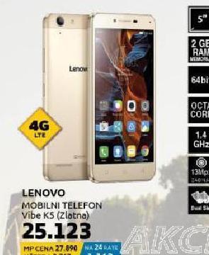 Mobilni telefon Vibe K5 PLUS DS