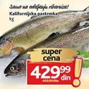 Riba kalifornijska pastrmka