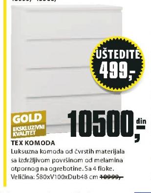Komoda Tex
