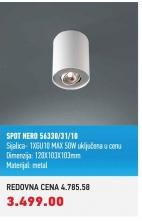 SPOT NERO 56330/31/10