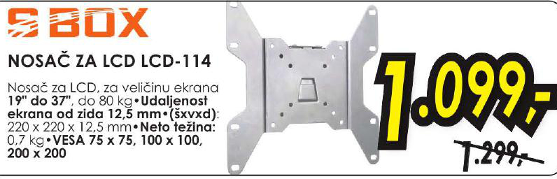 Nosač za LCD LCD 114
