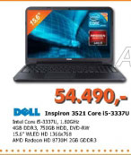 Laptop Inspiron 3521 Core i5-3337U