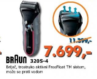 Brijač 320 S-4