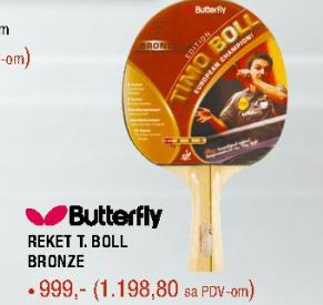 Reket T boll bronze, BUTTERFLY