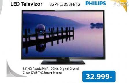 "Televizor LED 32"" 32PFL3088H/12"