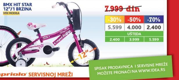Bicikl BMX Hit Star
