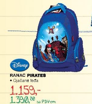 Ranac Pirates, Disney