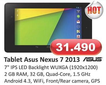 Tablet Nexus 7 2013
