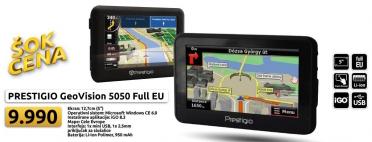 Auto navigacija GeoVision 5050 GPS