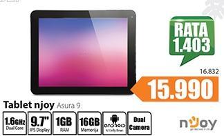 Tablet njoy Asura 9