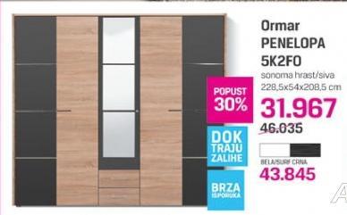 Ormar Penelopa 5K2FO