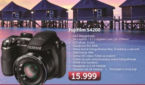 Fotoaparat S4200