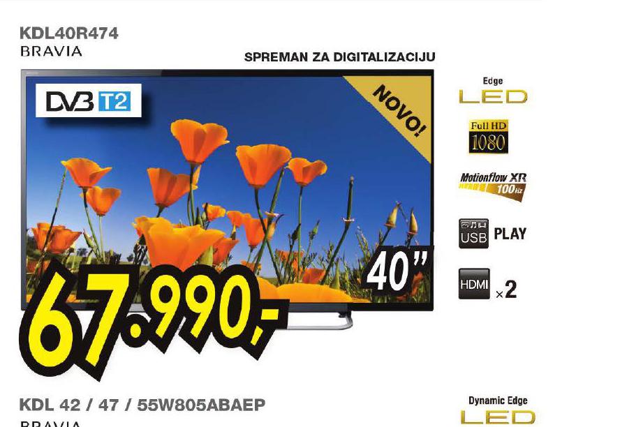 Televizor LED KDL40R474
