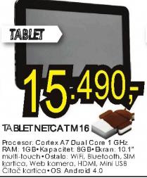 Tablet NETCAT M16