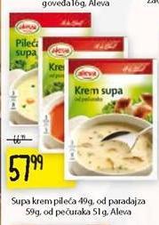 Supa krem pileća