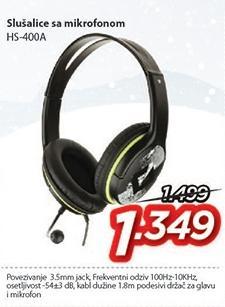 Slušalice Hs-400a