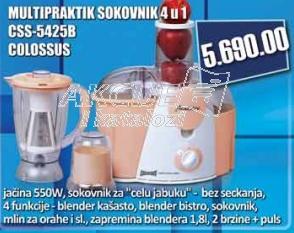 Multipraktik sokovnik Css-5425b