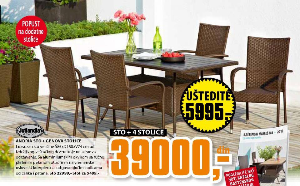 Andria sto + Genova stolice
