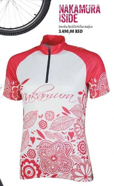 Ženska biciklistička majica Nakamura Iside