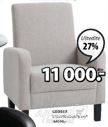 Fotelja Gedser