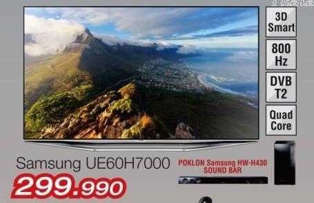 """Televizor LED 60"""" 3D Ue60h7000"""