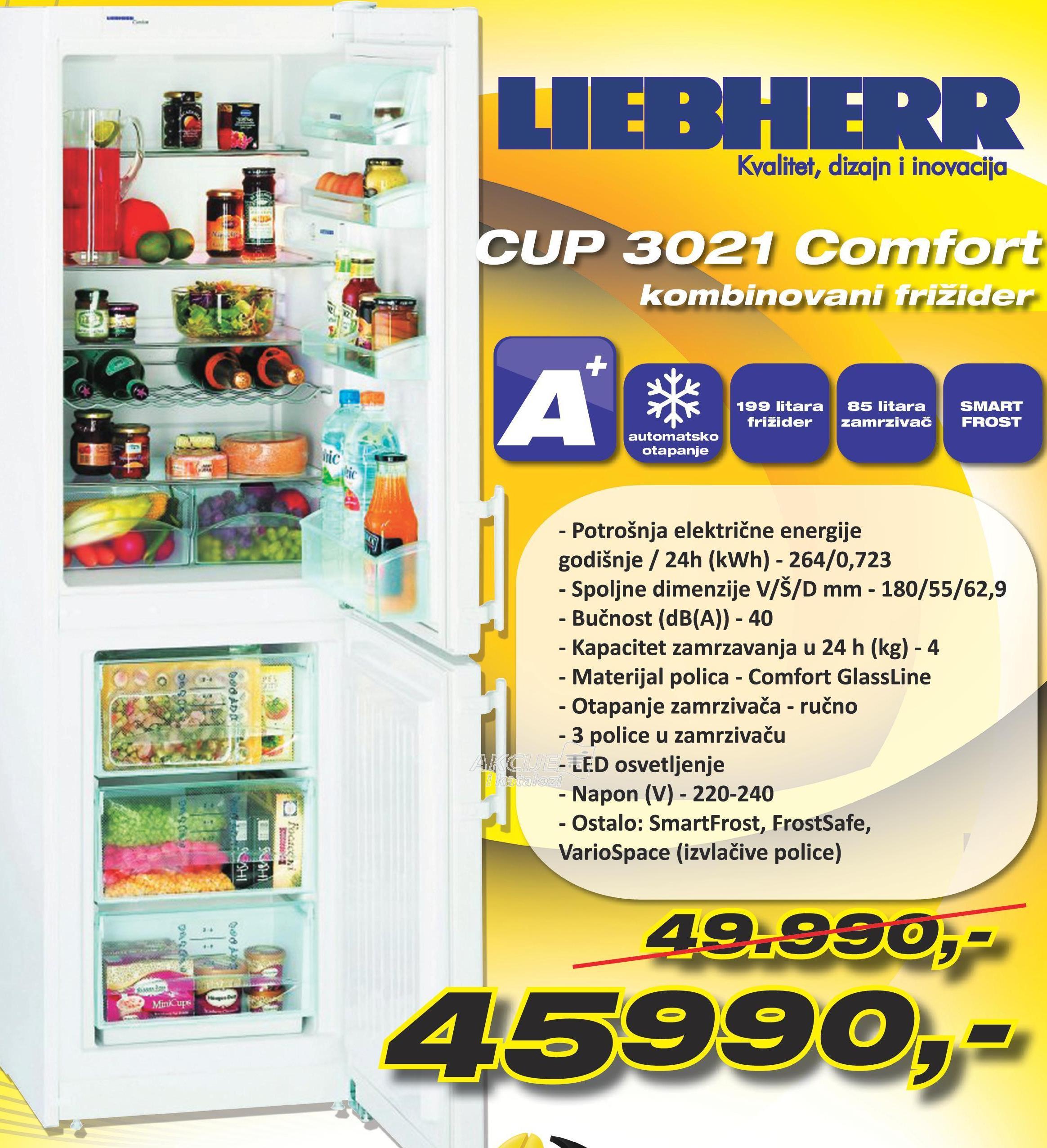 Frižider CUP3021 Comfort