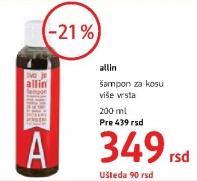 Šampon za kosu Allin