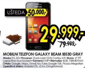 Mobilni telefon Galaxy Beam I8530 GRAY