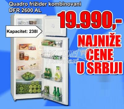 Kombinovani frižider DFR 2600 AL