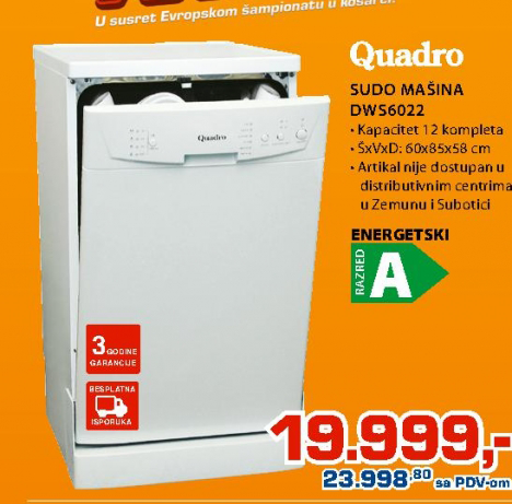 Sudo mašina DWS6022