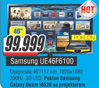 LED Televizor UE46F6100+POKLON: Samsung Galaxy i8530