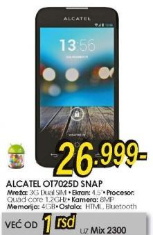 Mobilni telefon OT7025D snap