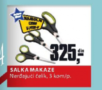 Makaze Salka, Price Star