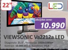 Monitor Va2212a LED