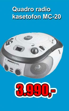 Radio kac-cd MC-20