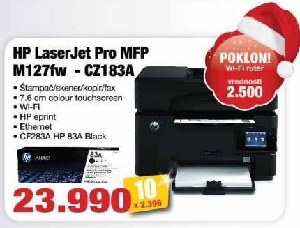 Multifunkcijski uređaj Laserjet Pro Mfp M127fw Cz183a